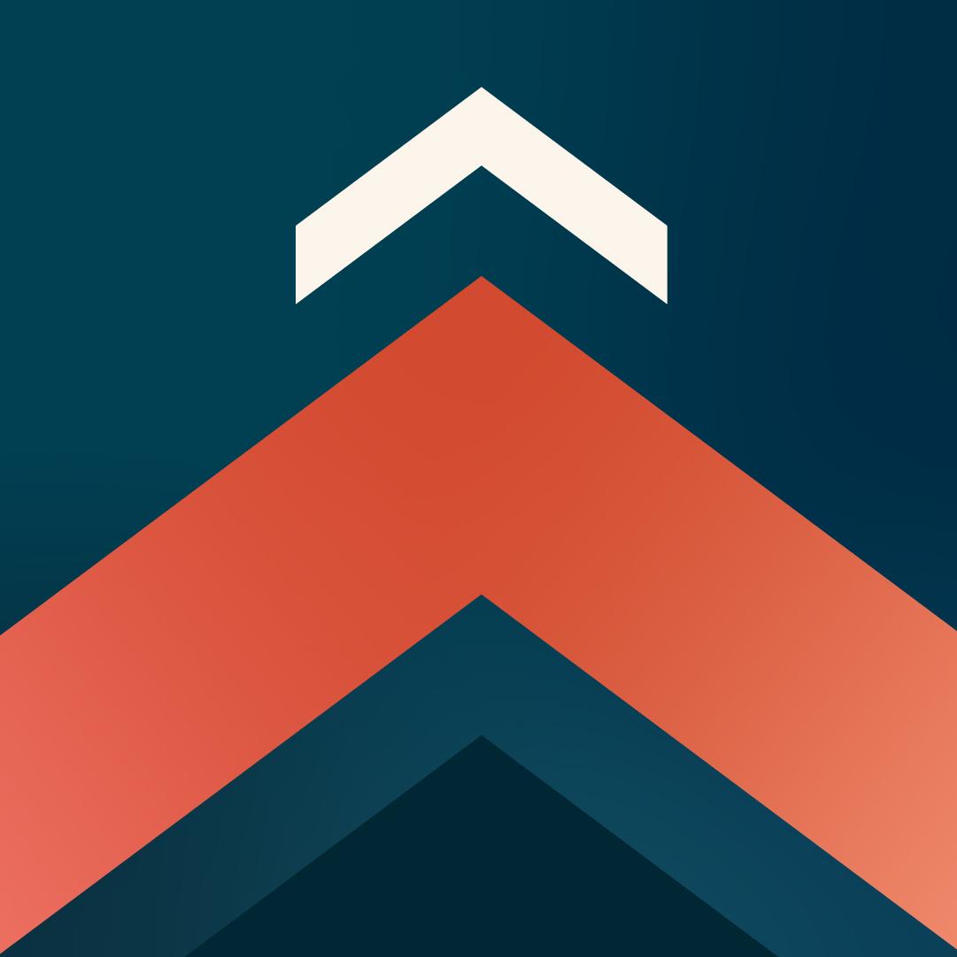 Image de marque des semaines de la carrière : fond bleu avec flèches roses