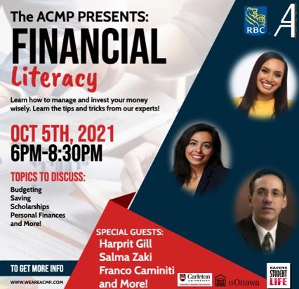 ACMP Présente: Litrératie Financière