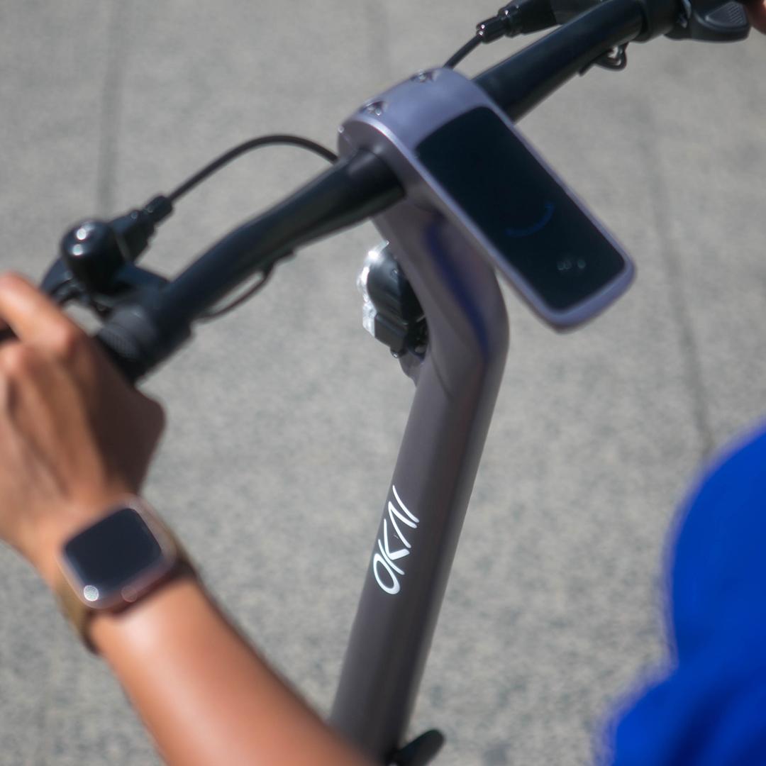 Des poignées de vélo