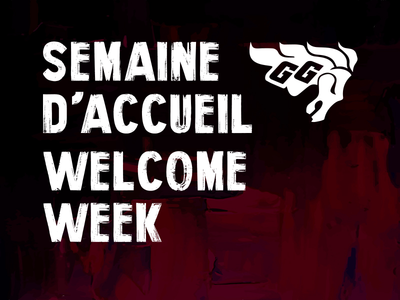 Semaine d'acceuil