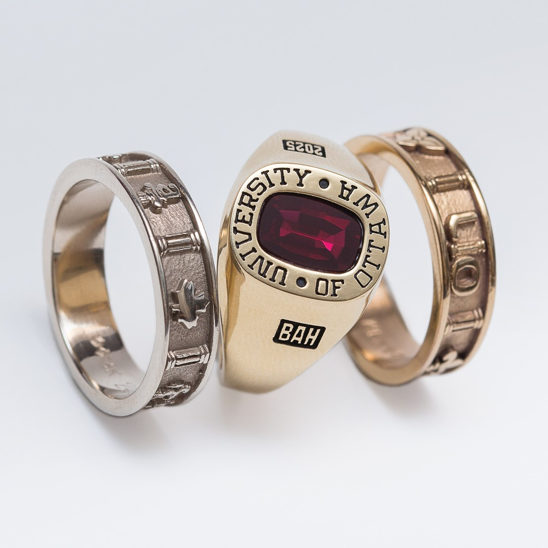 official uO ring - yellow gold