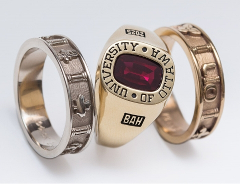 variety of uO rings