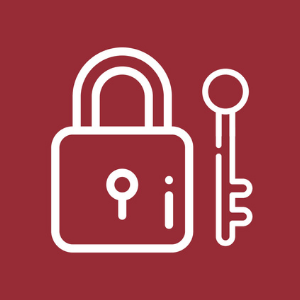 Icon of a lock
