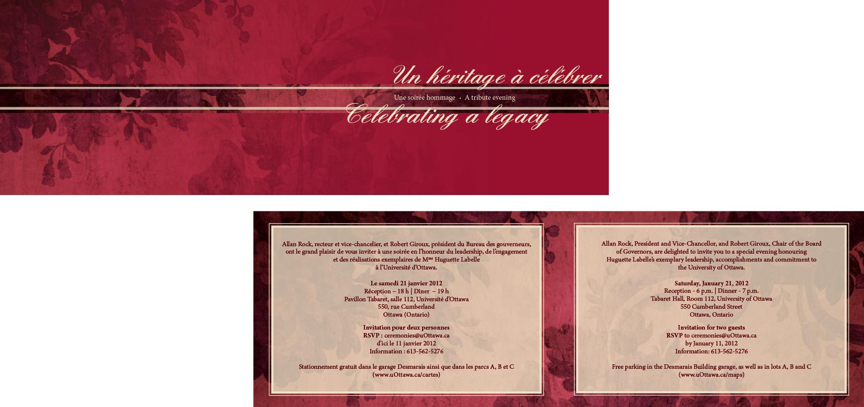 Invitation officielle