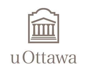 University of Ottawa colour vertical logo