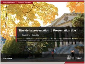 PowerPoint presentation title slide