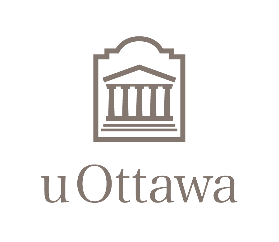 Logo vertical en couleur de l'Université d'Ottawa