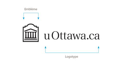 Logo horizontal uOttawa.ca en noir sur fond blanc