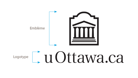 Logo vertical uOttawa.ca en noir sur fond blanc