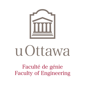 Vertical University of Ottawa logo with Faculty of Engineering sub-brand