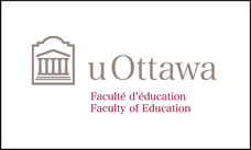 Faculty of Education colour horizontal logo on white background