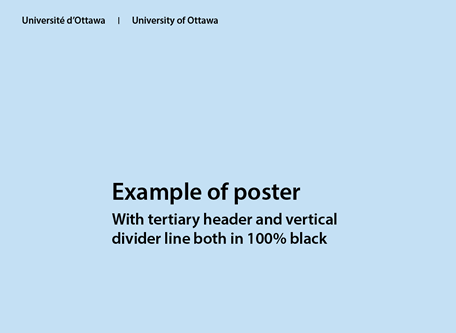 Tertiary header – black text on light background (no tab)