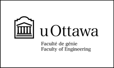 Faculty of Engineering black horizontal logo on white background