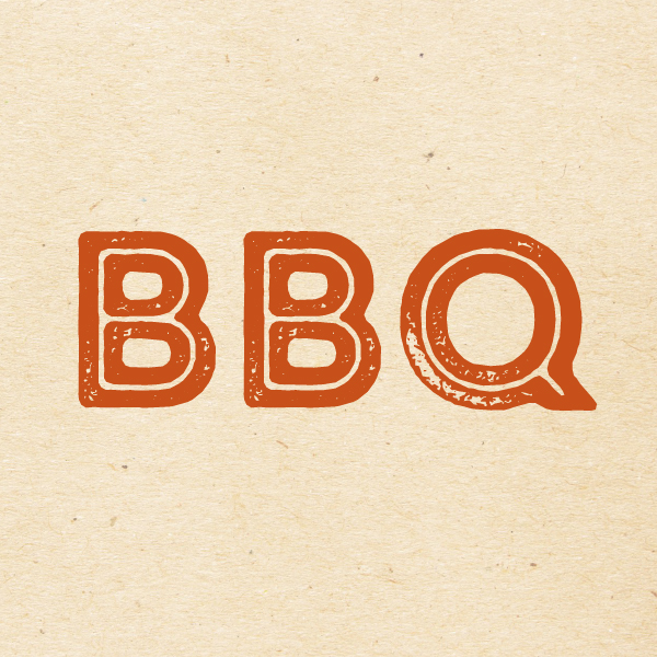 The word BBQ