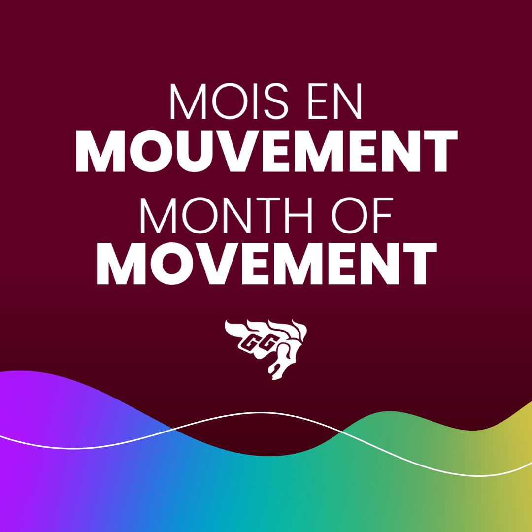 Month of movement graphic