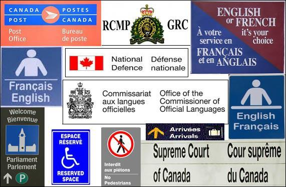 Bilinguisme des institutions fédérales