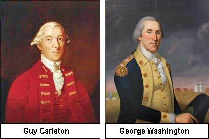 Guy Carleton and Georges Washington