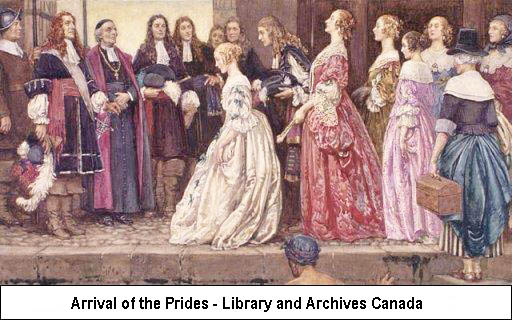 Arrival of the Prides