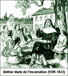 Mother Marie de l'incarnation