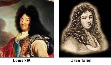 Louix XIV and Jean Talon