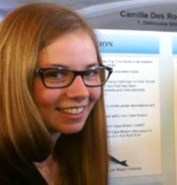 Camille Des Rosiers-Ste.Marie, M.Sc. Environmental Sustainability Canadidate
