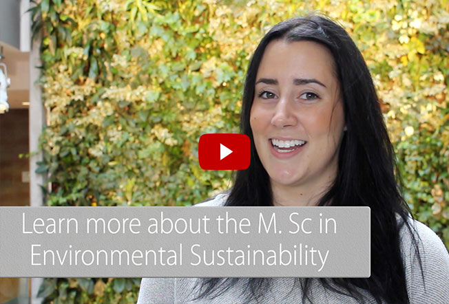 Watch Master of Environmental Sustainability Video