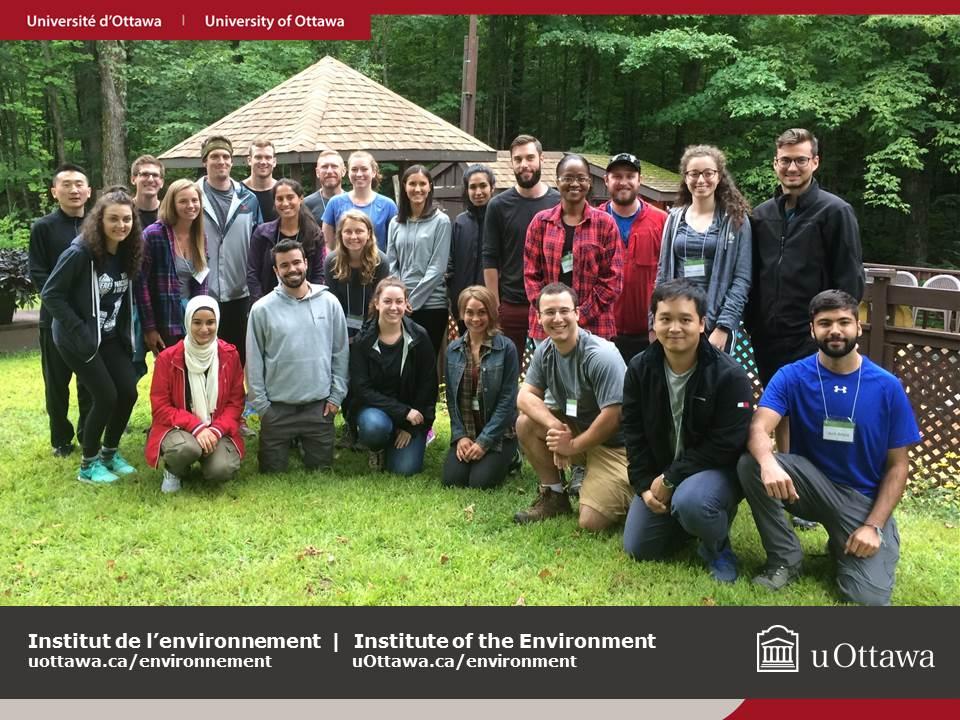 Université d'Ottawa - Maîtrise en durabilité de l'environnement - cohorte 2017