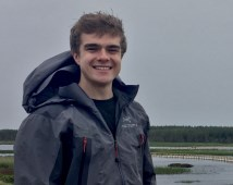 Andrew Linton, Master's of Environmental Sustainability student and recipient of the Smart Prosperity Fellowship