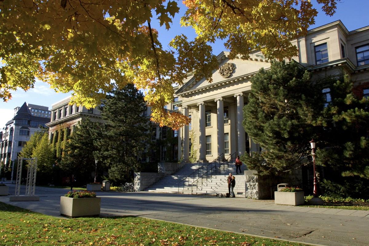 Université d'Ottawa en automne
