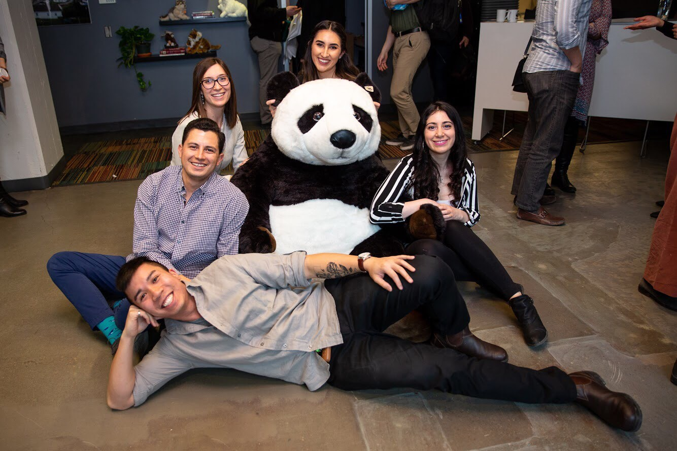 Master's of Environmental Sustainability Students at the World Wildlife Fund's Designing Change for a Living Planet