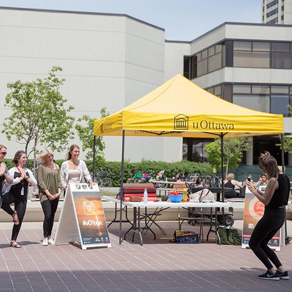 Activités sur le campus - Service de vie communautaire