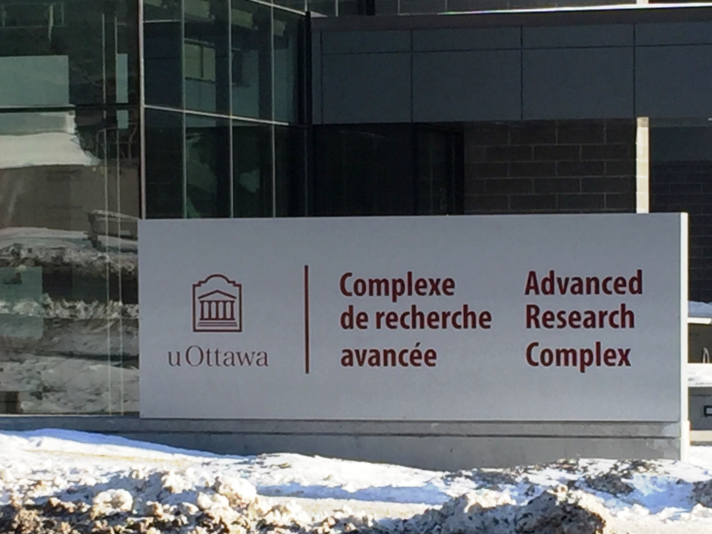 picture of Advanced Research Complex sign