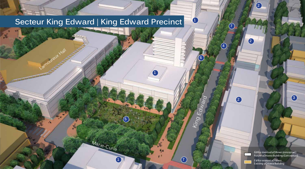 King Edward Precinct rendering