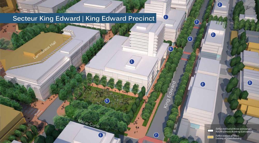 King Edward Precinct rendering