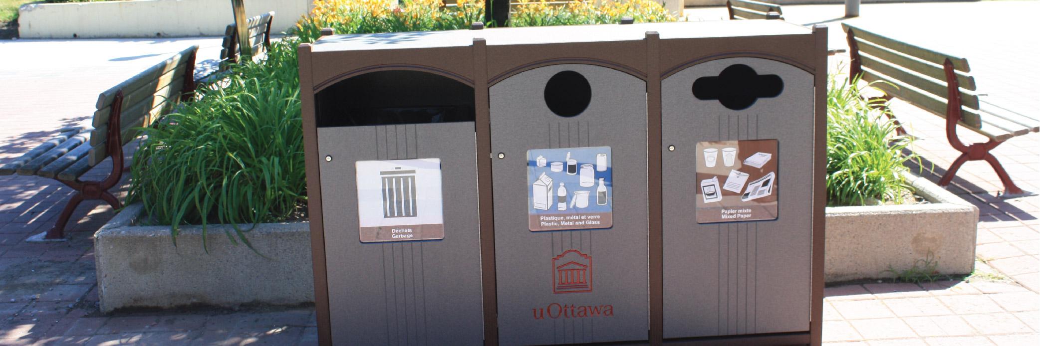 uOttawa Recycing counter