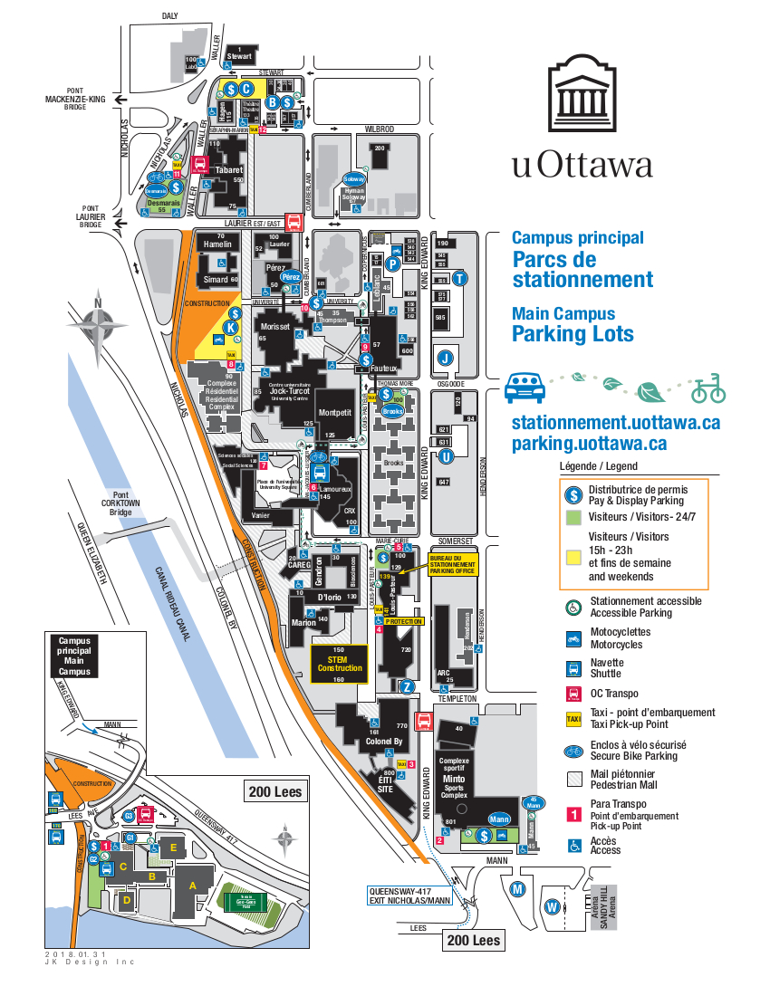 Thumbnail of the parking map