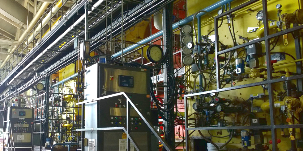 Image of the power plant interior