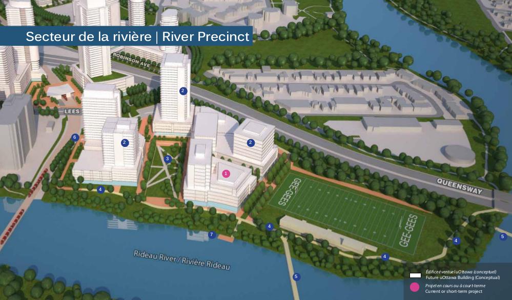River Precinct rendering