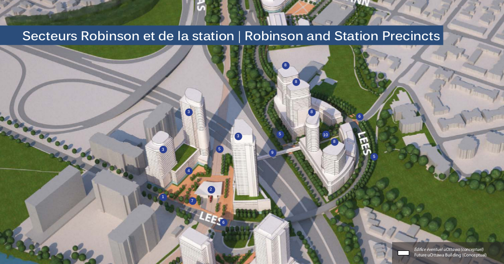 Robinson and Station Precincts rendering