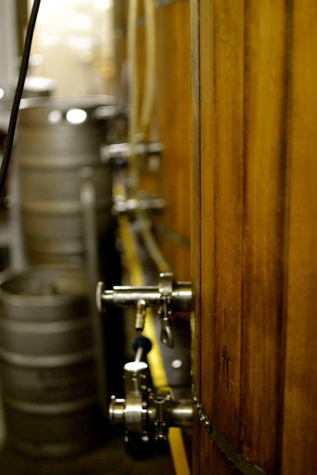 The brewery's installations.