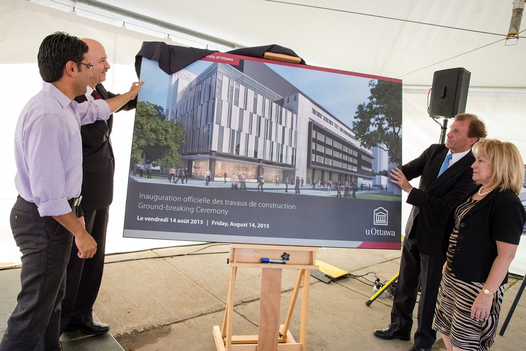 Unveiling of the Learning Centre rendering