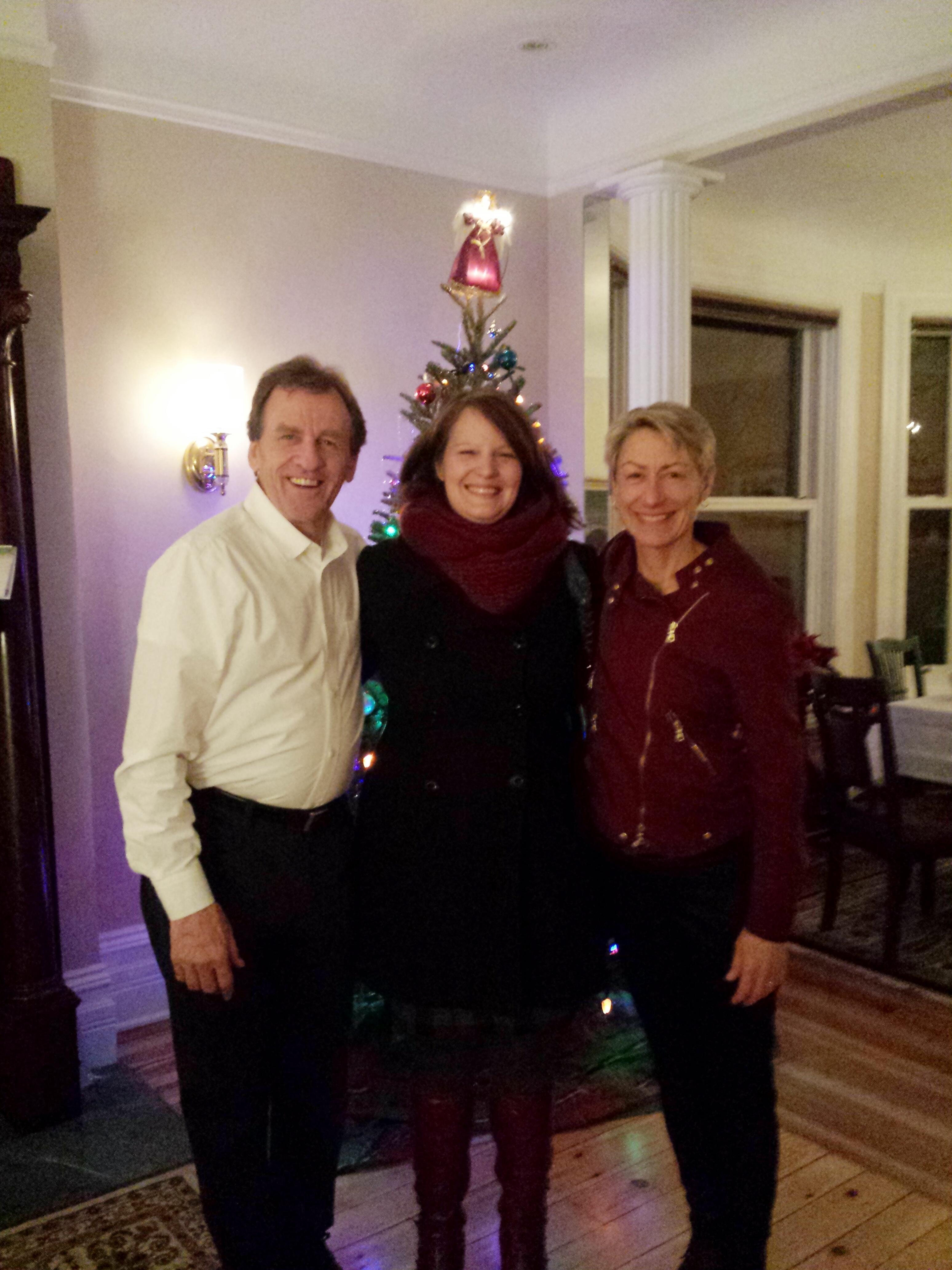 Allan Rock, Deborah Joyce and Debby Rock.