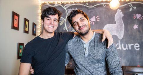 Ismail Benmbarek et Ali Kazal, co-fondateurs de Wandure