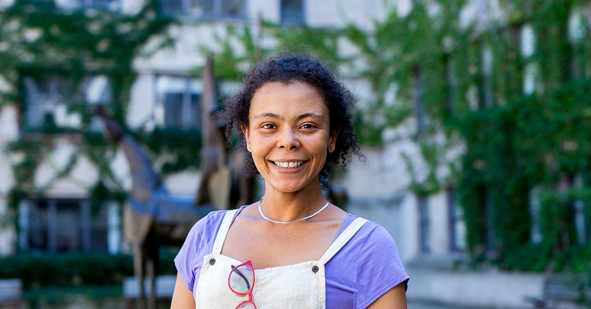 Portrait of Professor Tansy Etro-Beko