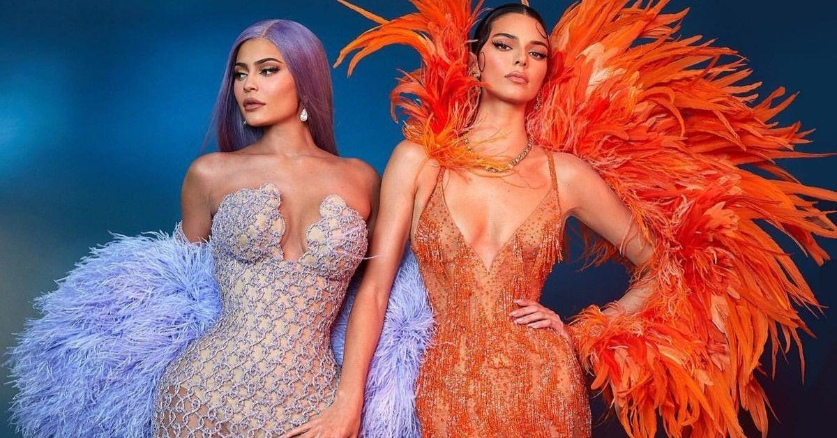 Kylie Jenner et Kendall Jenner au MET Gala.