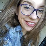 Selfie en gros plan de rebecca_martin07