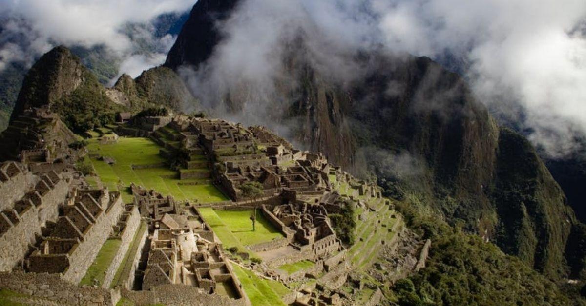 Agriculture sur la montagne du Machu Picchu