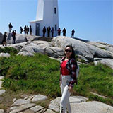itshns standing in front of a lighthouse