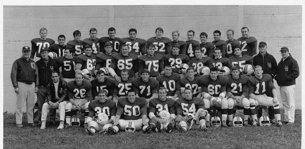 Gee-Gees football team in 1967.