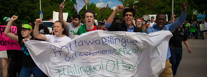 Ottawa's francophone community is alive and diverse.